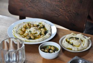 Hummus bi tahina z košer pekárny